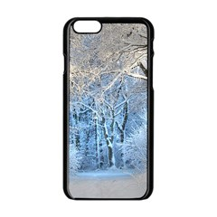 Another Winter Wonderland 1 Apple Iphone 6 Black Enamel Case by MoreColorsinLife
