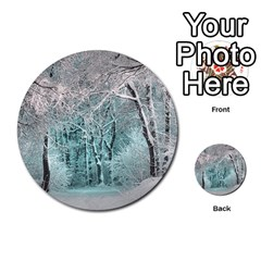 Another Winter Wonderland 2 Multi Purpose Cards (round)