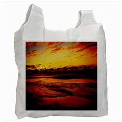 Stunning Sunset On The Beach 2 Recycle Bag (one Side) by MoreColorsinLife