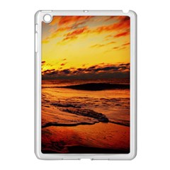 Stunning Sunset On The Beach 2 Apple Ipad Mini Case (white) by MoreColorsinLife