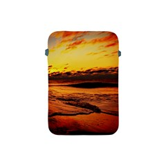 Stunning Sunset On The Beach 2 Apple Ipad Mini Protective Soft Cases by MoreColorsinLife
