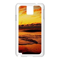 Stunning Sunset On The Beach 2 Samsung Galaxy Note 3 N9005 Case (white)