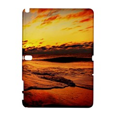 Stunning Sunset On The Beach 2 Samsung Galaxy Note 10 1 (p600) Hardshell Case by MoreColorsinLife