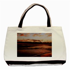 Stunning Sunset On The Beach 3 Basic Tote Bag (two Sides)  by MoreColorsinLife