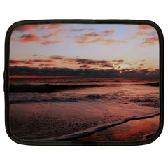 Stunning Sunset On The Beach 3 Netbook Case (large)	 by MoreColorsinLife