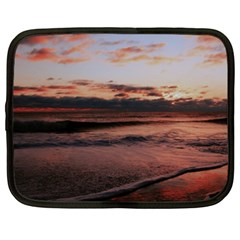 Stunning Sunset On The Beach 3 Netbook Case (xxl)  by MoreColorsinLife