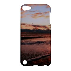Stunning Sunset On The Beach 3 Apple Ipod Touch 5 Hardshell Case by MoreColorsinLife