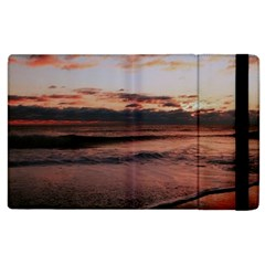 Stunning Sunset On The Beach 3 Apple Ipad 3/4 Flip Case by MoreColorsinLife