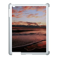 Stunning Sunset On The Beach 3 Apple Ipad 3/4 Case (white) by MoreColorsinLife