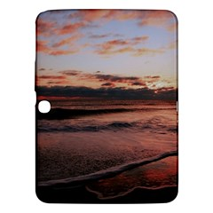 Stunning Sunset On The Beach 3 Samsung Galaxy Tab 3 (10 1 ) P5200 Hardshell Case  by MoreColorsinLife