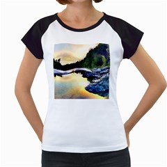 Stunning Nature Evening Women s Cap Sleeve T by MoreColorsinLife