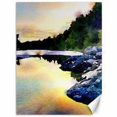Stunning Nature Evening Canvas 36  X 48   by MoreColorsinLife
