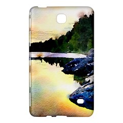 Stunning Nature Evening Samsung Galaxy Tab 4 (7 ) Hardshell Case  by MoreColorsinLife