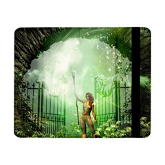 The Gate In The Magical World Samsung Galaxy Tab Pro 8 4  Flip Case by FantasyWorld7
