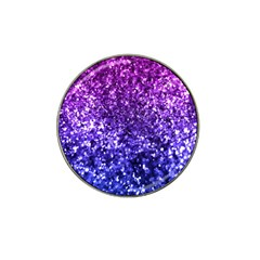 Midnight Glitter Hat Clip Ball Marker by KirstenStar