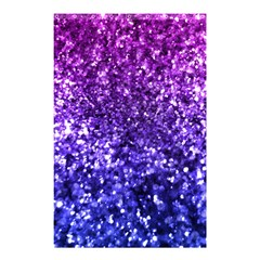 Midnight Glitter Shower Curtain 48  X 72  (small)  by KirstenStar