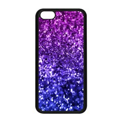 Midnight Glitter Apple Iphone 5c Seamless Case (black) by KirstenStar