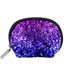 Midnight Glitter Accessory Pouches (small)  by KirstenStar