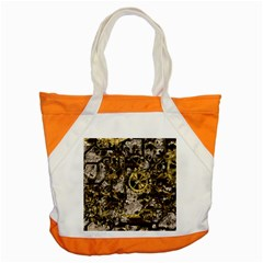Metal Steampunk  Accent Tote Bag  by MoreColorsinLife