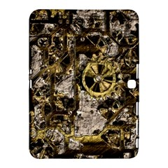 Metal Steampunk  Samsung Galaxy Tab 4 (10 1 ) Hardshell Case  by MoreColorsinLife