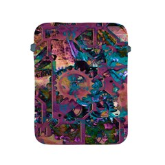 Steampunk Abstract Apple Ipad 2/3/4 Protective Soft Cases by MoreColorsinLife