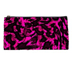 Extreme Pink Cheetah Abstract  Pencil Cases by OCDesignss