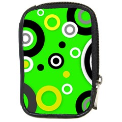 Florescent Green Yellow Abstract  Compact Camera Cases