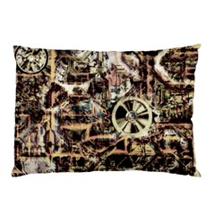 Steampunk 4 Soft Pillow Cases by MoreColorsinLife