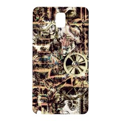 Steampunk 4 Soft Samsung Galaxy Note 3 N9005 Hardshell Back Case by MoreColorsinLife
