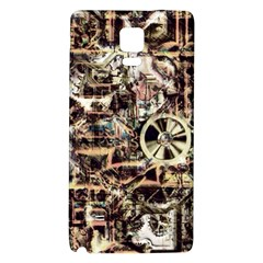 Steampunk 4 Soft Galaxy Note 4 Back Case by MoreColorsinLife