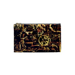 Steampunk 4 Cosmetic Bag (small)  by MoreColorsinLife