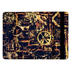 Steampunk 4 Samsung Galaxy Tab Pro 12 2  Flip Case by MoreColorsinLife