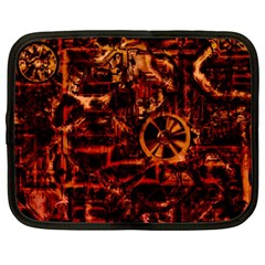 Steampunk 4 Terra Netbook Case (large)