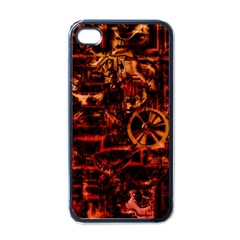 Steampunk 4 Terra Apple Iphone 4 Case (black) by MoreColorsinLife