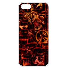Steampunk 4 Terra Apple Iphone 5 Seamless Case (white) by MoreColorsinLife