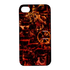 Steampunk 4 Terra Apple Iphone 4/4s Hardshell Case With Stand by MoreColorsinLife