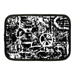 Steampunk Bw Netbook Case (medium)  by MoreColorsinLife