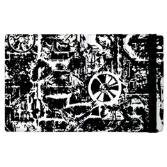Steampunk Bw Apple Ipad 3/4 Flip Case by MoreColorsinLife