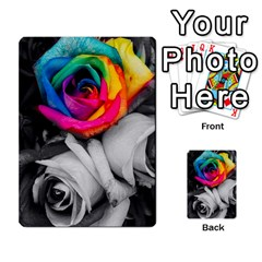 Blach,white Splash Roses Multi Purpose Cards (rectangle)  by MoreColorsinLife