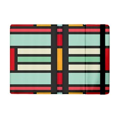 Mirrored Rectangles In Retro Colors Apple Ipad Mini Flip Case by LalyLauraFLM