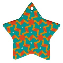 Sun Pattern Ornament (star) by LalyLauraFLM