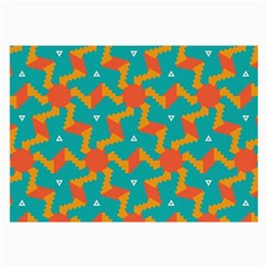Sun Pattern Large Glasses Cloth (2 Sides) by LalyLauraFLM
