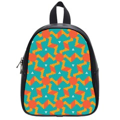 Sun Pattern School Bag (small) by LalyLauraFLM
