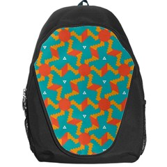Sun Pattern Backpack Bag by LalyLauraFLM