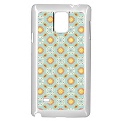 Cute Seamless Tile Pattern Gifts Samsung Galaxy Note 4 Case (white) by creativemom