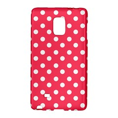Hot Pink Polka Dots Galaxy Note Edge by creativemom