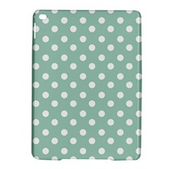 Light Blue And White Polka Dots Ipad Air 2 Hardshell Cases by creativemom