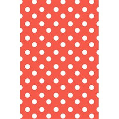Indian Red Polka Dots 5 5  X 8 5  Notebooks by creativemom