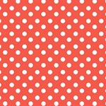 Indian Red Polka Dots ENGAGED 3D Greeting Card (8x4)  Inside