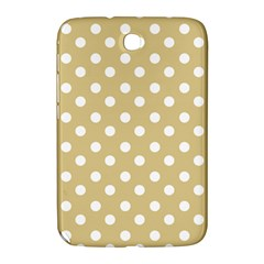 Mint Polka And White Polka Dots Samsung Galaxy Note 8 0 N5100 Hardshell Case  by creativemom